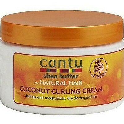 Cantu Shea Butter For Natural Hair Coconut Curling Cream 12oz (340g)