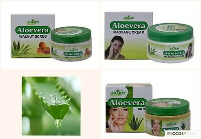 ALOE VERA GEL FACE WASH/SCRUB/CREAM /LOTION/PAIN OIL  FREE POST all full size