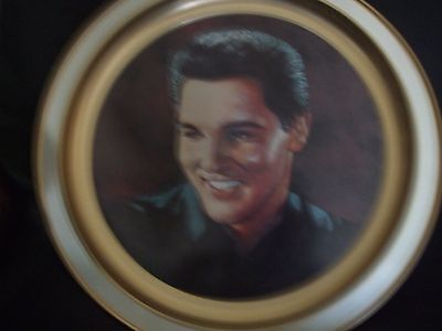 """""""elvis Presley""""12""""-""""very Rare-""""limited Ed-Metal-Serving Tray/wall Plaque-Nk18"""