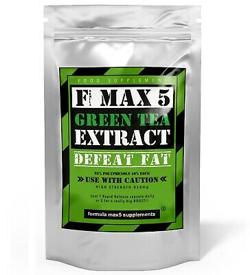 Green Tea Fat Burner Capsules Strongest Slimming Weight Loss Diet Pills Tablets