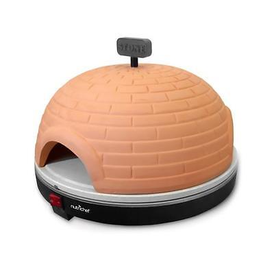 New NutriChef PKPZ950 Electric Pizza Pit Oven, Pizza maker oven, Stone