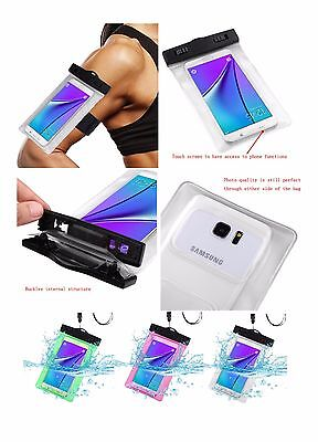 Waterproof Bag Underwater Dry Pouch Case Cover Lanyard Armband For Samsung Phone