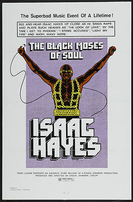 0395  Vintage Music Poster Art - Isaac Hayes