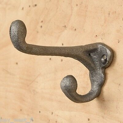 Vintage Style Cast Iron Coat Hook ~ Hanger ~ { LOT of 6 } ~ by PLD
