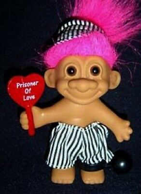 "VALENTINE Russ Troll Doll 5"" PRISIONER OF LOVE New in Original Wrapper"
