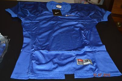 Nwt Nike Boys Solid Blue Football Jersey Sz Youth Small Style 337308 Scrimmage