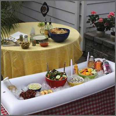 1pc Bar Inflatable Salad Buffet Cooler Party Ice Food Portable And Picnic Drink