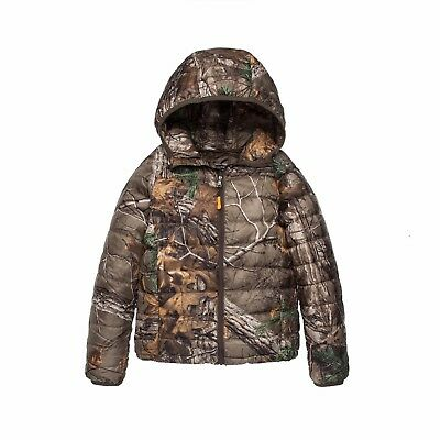 Children Ultra-thin Camouflage Hunting Clothing Real Tree Camo Padded Jacket