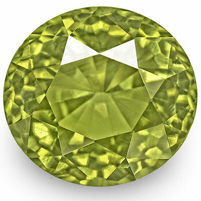 3.06-Carat Rare Flawless Fiery Yellowish Green Alexandrite (GIA-Certified)
