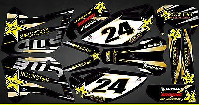 Kit Déco Moto pour / Mx Decal Kit For Sherco 50 - Bud