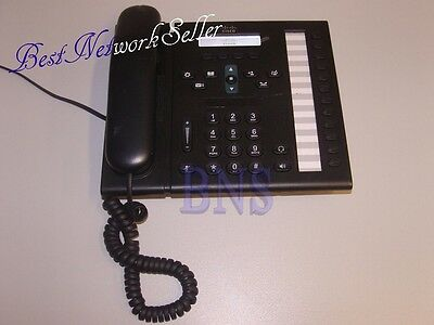 ★★ CISCO CP-6961 CP-6961-CL-K9 Unified IP Phone 6961 Charcoal Slimline Handset