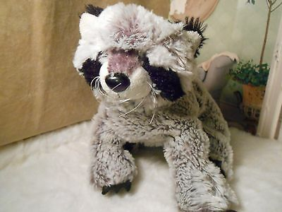 RACOON  Plush Beanie Webkinz HM143 WITHOUT CODE FAST SHIPPING
