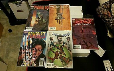 Powerless #6,5,4,3,2 lot of 5 comics