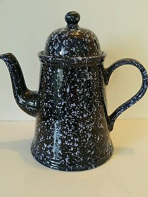 Rare Ceramic Speckled Vintage Arthur Wood Bon Appetite Tea/Coffee Pot England