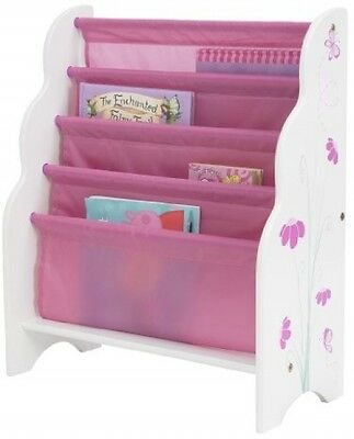 Worlds Apart Butterflies And Flowers Sling Bookcase