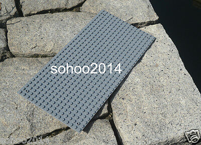 """x3 Compatible for Lego Deep Gray Base Plate display Brick (5""""x10"""") 16x32 Dots"""