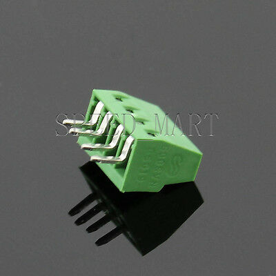 4 poles/4 Pin 2.54mm 0.1'' PCB Universal Screw Terminal Block Connector