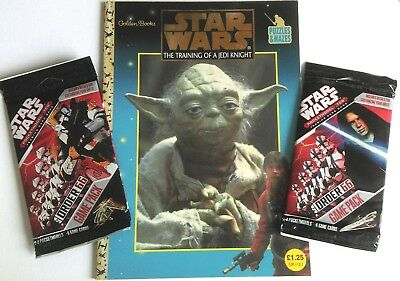 Star Wars The training of a jedi knight puzzle book with pocket models game pack