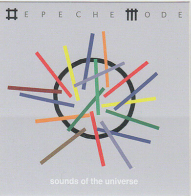 Depeche Mode Sounds of the Universe RARE promotional sticker '09