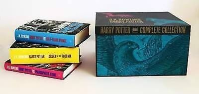 Harry Potter THE COMPLETE COLLECTION by J. K. Rowling : Hardback Books 1-7