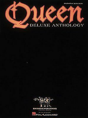 Best Of Queen Deluxe Anthology Piano Guitar PVG Sheet Music Book. Greatest Hits