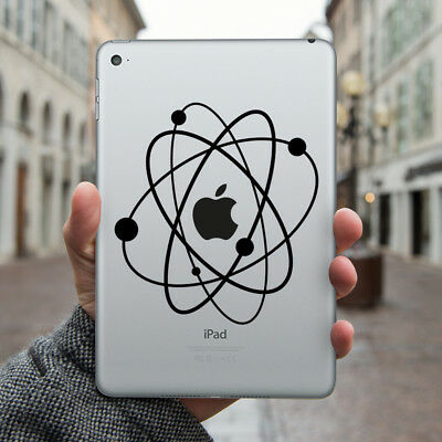 ATOM Apple iPad Decal Sticker fits iPad Air & iPad Mini models