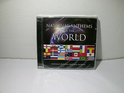 National Anthems Of The World Inni Nazionali di Tutto il Mondo NUOVO SIGILLATO