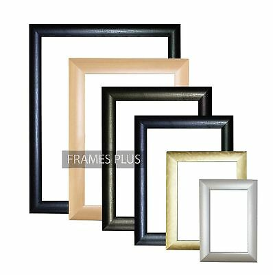Picture Frame Photo Frame Poster Frame Black Mahogany Silver Gold Maple