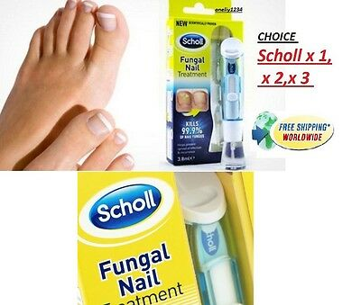 Scholl Fungal Nail Treatment 3,8ml Kill Fungus99.9%,VERY EFFECTIVE, Best QUALITY