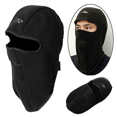 Winter Motorcycle Balaclava Thermal Fleece Warm Full Face Neck Mask Cover Cap
