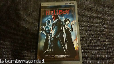 Umd Movie - Hellboy - España - Columbia - 2004 - Psp