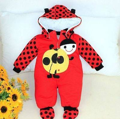 Baby Boy's/Girl's Animal Ladybird Romper Bodysuit Jumpsuit Snow suit Outfit