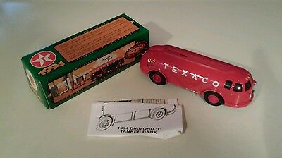 Texaco Toy Tanker Bank