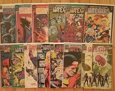 Dc Comics The Wanderers # 1 2 3 4 5 6 7 8 9 10 11 12 13 Full Set Series Complete