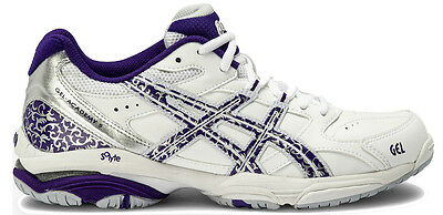 Asics Gel Academy 5 Womens Netball Shoes (0163)  + Free Aus Delivery