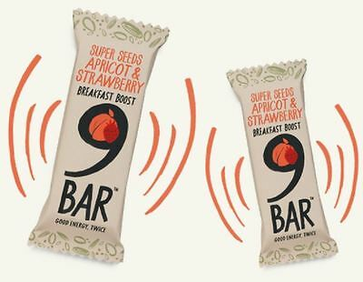 9 Bar Breakfast Apricot & Strawberry 40g (Pack of 16)