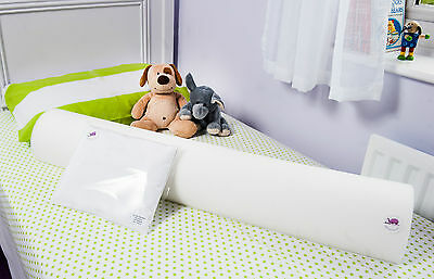The Big Bed FLEDGLING Pack for SINGLE beds -100% Nursery FOAM bed guard bumpers