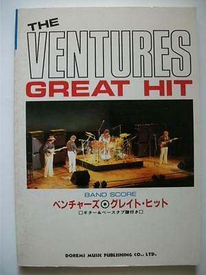 The Ventures Great Hit Japan Band Score Guitar Tab