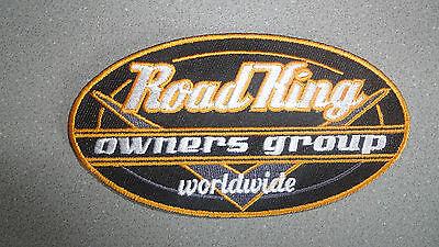Aufnäher-Road-King-Owners-Group Patch 11x6 cm f. Harley-Davidson® FLHR-Besitzer