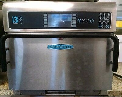 i3 TurboChef Oven Rapid Cook Convection Microwave Oven 3 Phase - Tested