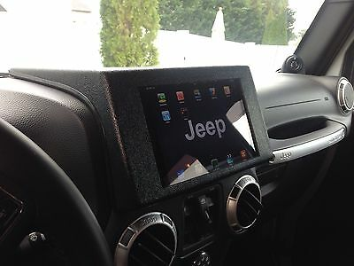 Angry Off Road- Side Entry Ipad Mini Dash Mount for 2011-2016 Jeep Wrangler Jk