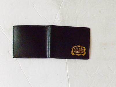 New Rare Golden Nugget Casino Leather Type Wallet Las Vegas