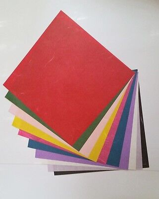 30sheets Traditional Korean Paper Hanji 5.9*5.9in Origami Craft Fine Arts
