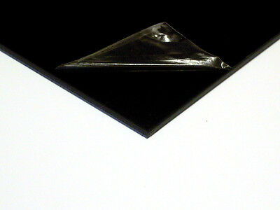 1.5mm ABS Black Smooth Sheet (Multiple Sizes) VAT Invoice Supplied