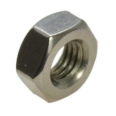 Qty 5 Left Hand Thread Nut M8 (8mm) Stainless Steel Hex SS 304 A2 70