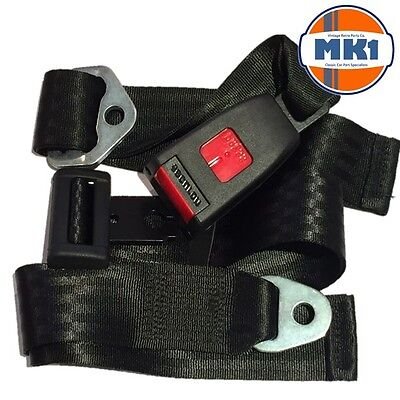 Land Rover Series & Defender Centre & Rear Static Seat Lap Belt SECURON 210 x2