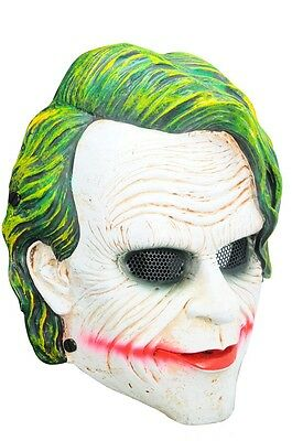 NEW Airsoft CS Paintball Wire Mesh Protection Clown Mask Cosplay Prop