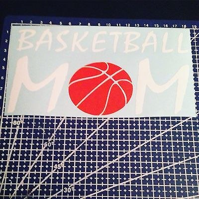 Basketball Mom Vinyl Decal