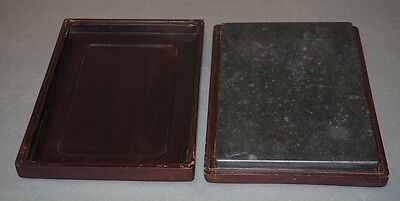 Chinese Ink Stone With Case, Plain