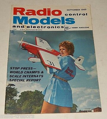 RADIO CONTROL Models and Electronics September 1969 : Barnstormer - SKYLARK 4...